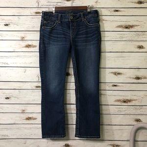 45ae7babd3f88 Silver Jeans · Silver Suki Capri ...